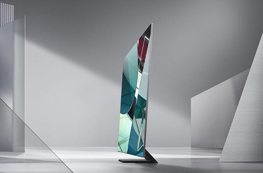 Samsung presenta un televisor que gira para reproducir videos verticales
