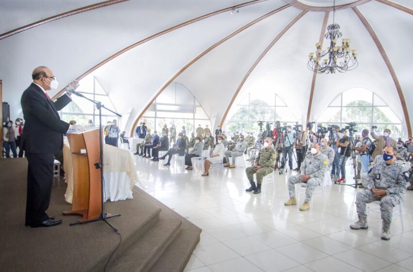 JCE inicia programa de capacitación de miembros de Policía Militar Electoral