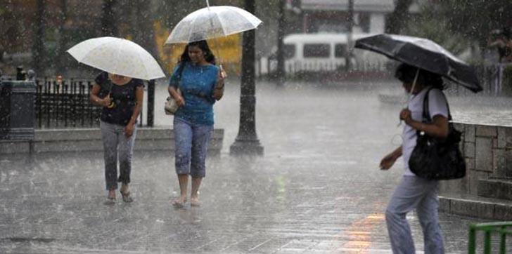 Habrá aguaceros con tormenta eléctrica para esta tarde, informa Onamet