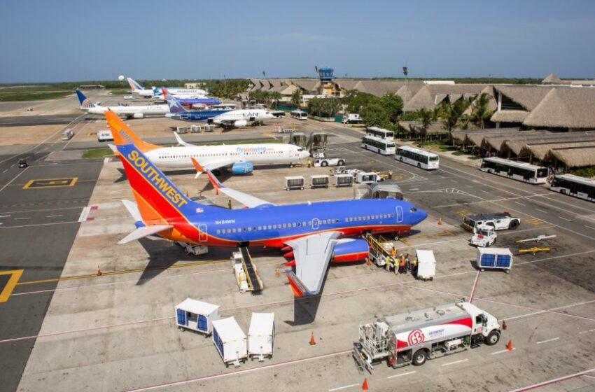Aeropuerto Internacional de Punta Cana tiene programados 363 vuelos para julio