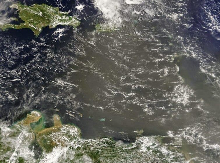 Meteorólogo estima Polvo del Sahara ingresará al país a las 5:00 de la tarde