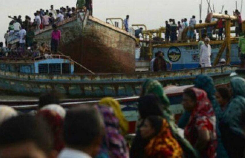 Aumentan a 30 los muertos en el naufragio de un barco en un río de Banglades