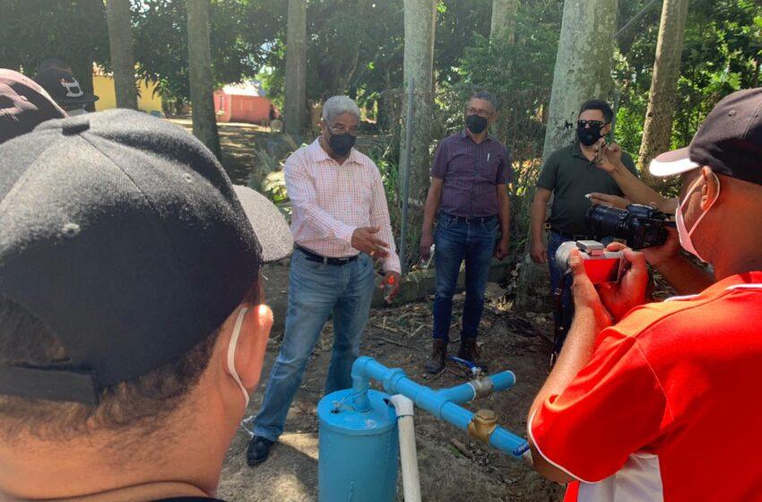 CORAAMOCA pone en funcionamiento pozos tubulares en Sectores de Espaillat