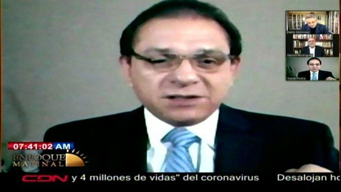 Presidente Unión Médica de Santiago revela paciente de Covid-19 en UCI cuesta 150 mil pesos diarios