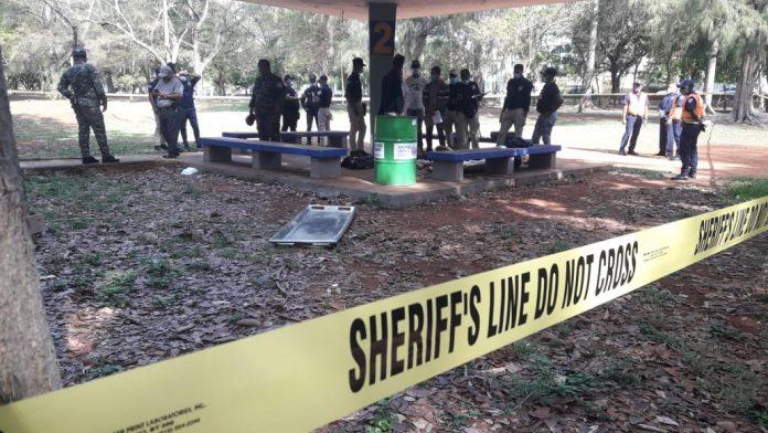 Encuentran hombre muerto en el parque Mirador Sur