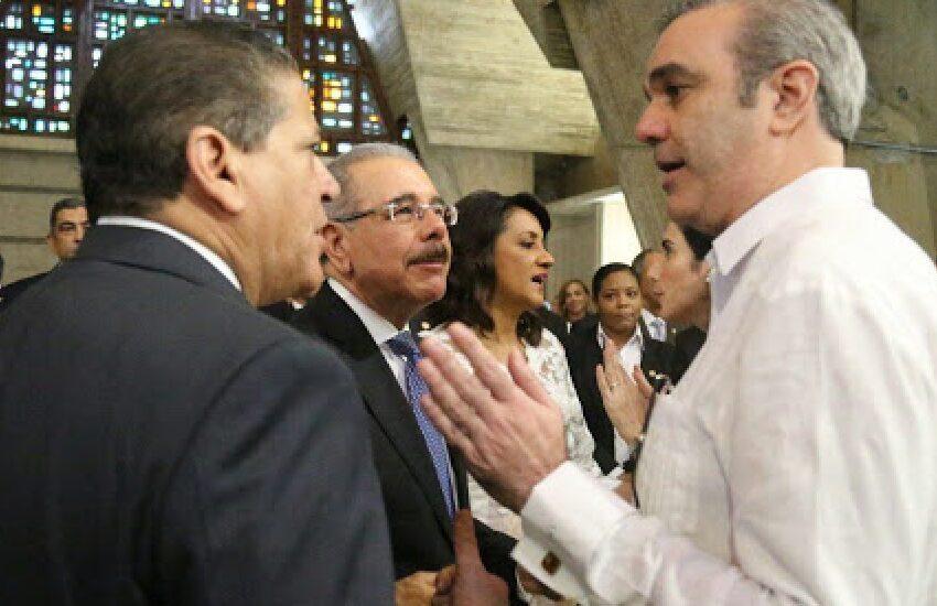 Presidente Medina recibirá a Luis Abinader este miércoles en el Palacio Nacional
