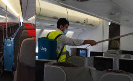 Iberia aplica nuevas soluciones innovadoras y sostenibles en la limpieza e higienización de sus aviones