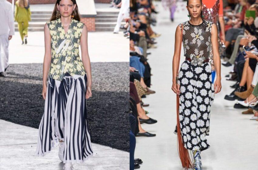 ESTAMPADO DE MARGARITAS el print floral más de moda