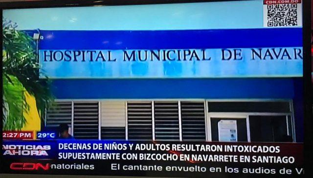 22 persona intoxicadas en comunidad de Navarrete