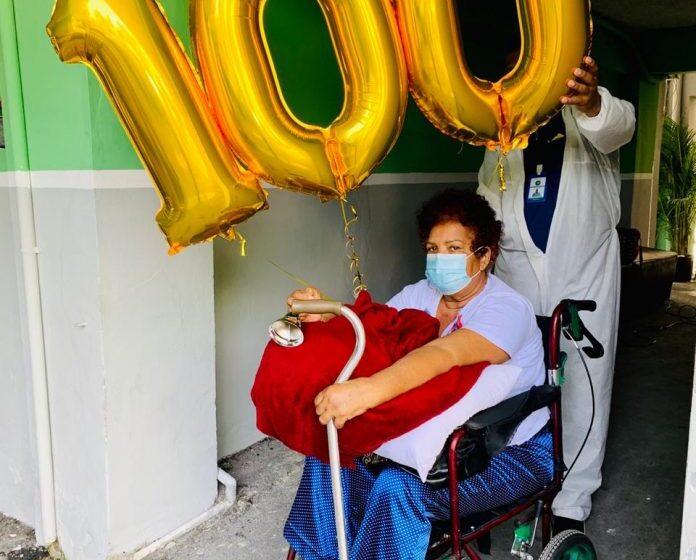 Clínica Cruz Jiminián dará la alta médica paciente de COVID-19, número 100