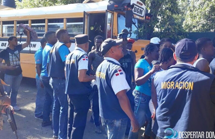 Migración Rep. Dominicana reanudará las repatriaciones de haitianos ilegales