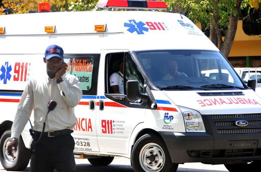 Turba lanza piedras contra ambulancia 9-11 llegó tarde