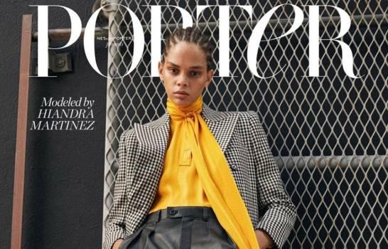 Hiandra Martínez, la modelo dominicana que arrasa en las revistas internacionales