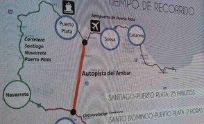 Se acortará el tiempo de viaje entre Santo Domingo y Puerto Plata