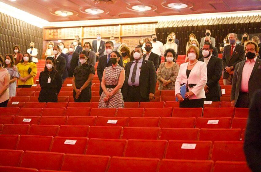 Reabren Teatro Nacional SD con un concierto al que asistió Primera Dama
