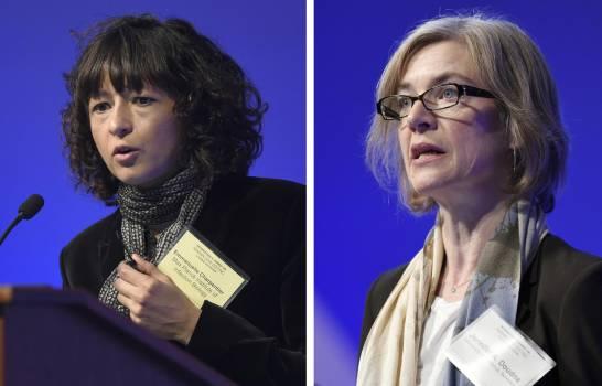 Científicas ganan Nobel de Química por 'tijeras genéticas'