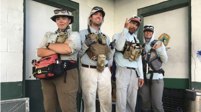 Un grupo de voluntarios se pierde la pandemia al pasar ocho meses en una remota isla deshabitada apartada de la civilización