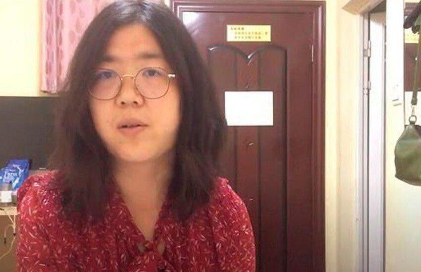 Una periodista china afronta cinco años de cárcel por informar desde Wuhan
