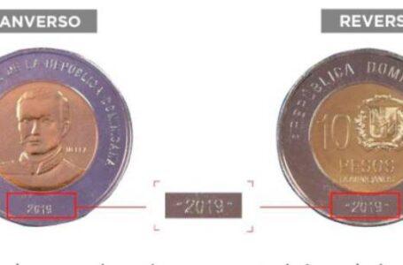 Circula nueva moneda de RD$10.00