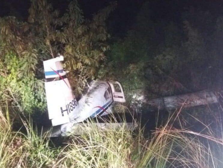 Aeronave cargada de droga se estrella en Pedernales