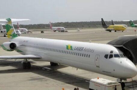 Laser suspende vuelos entre Caracas y República Dominicana tras positivos de covid-19