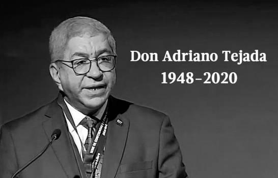 Fallece Don Adriano Miguel Tejada