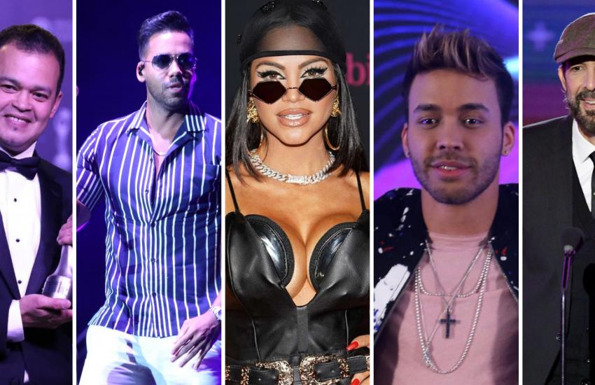 Estos son los cinco dominicanos en la lista de nominados a Latin American Music Awards