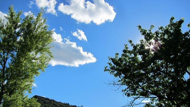 Meteorología prevé condiciones de buen tiempo para hoy