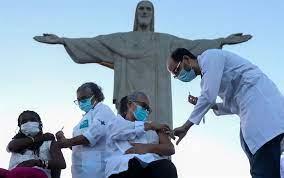 Brasil baja sus contagios, Cuba vive gran rebrote y Paraguay vacunará jóvenes