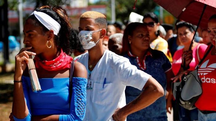 En Cuba se suman 8.034 casos de covid-19 y 80 fallecidos en un día