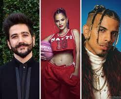 Camilo, Natti Natasha, Nodal y Rauw Alejandro irán a los Monitor Music Awards